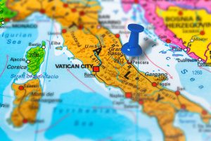 Pescara Italy map